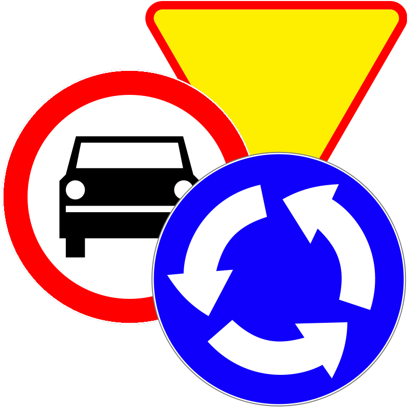 znaki drogowe